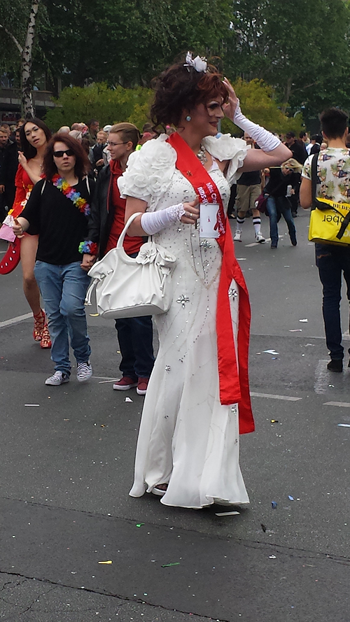 CSD-Parade Berlin 2014: next diva is coming soon